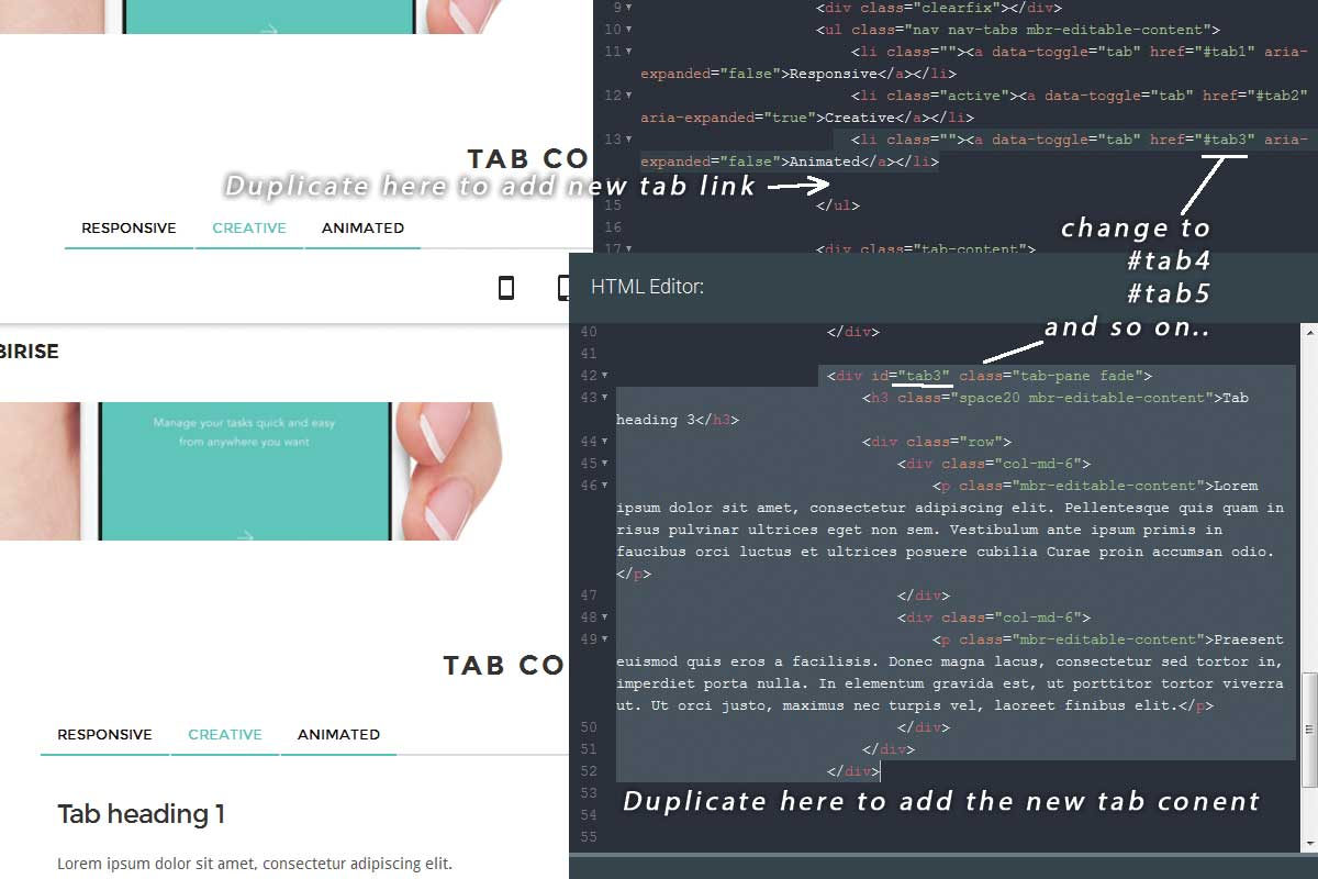 Bootstrap Responsive Theme Tutorial