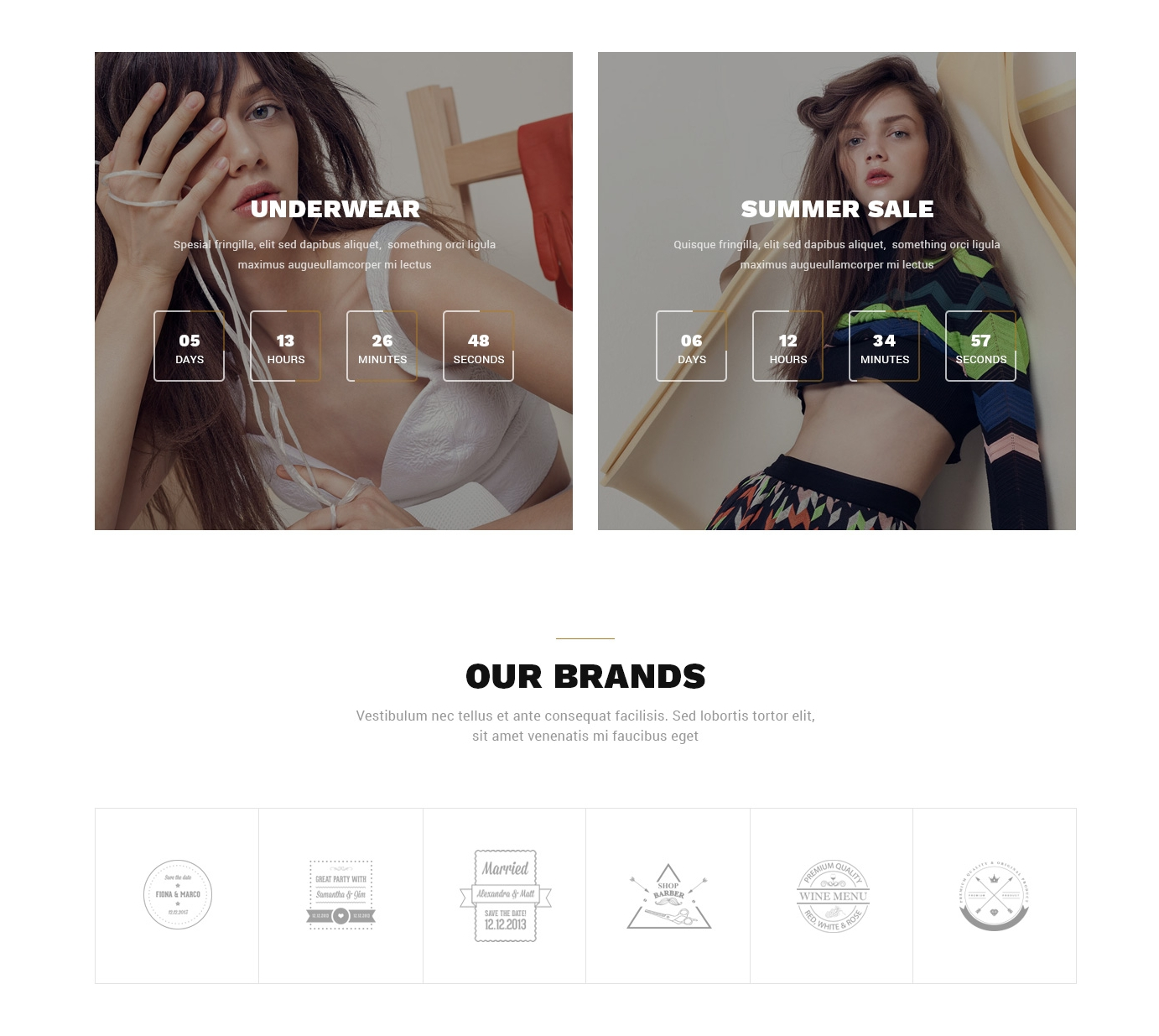 HTML5 Bootstrap Landing Page Theme