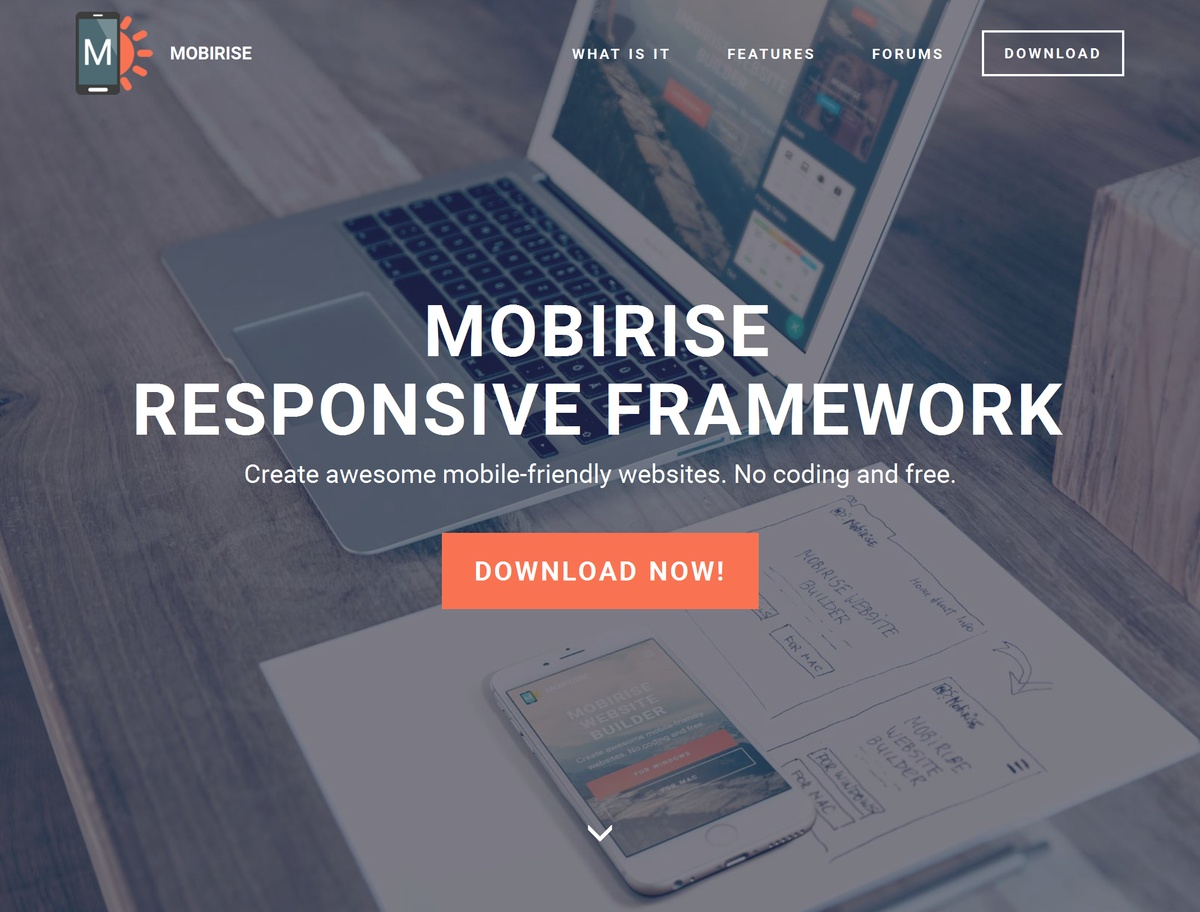 Responsive Site Template