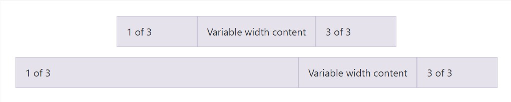 Variable  size content