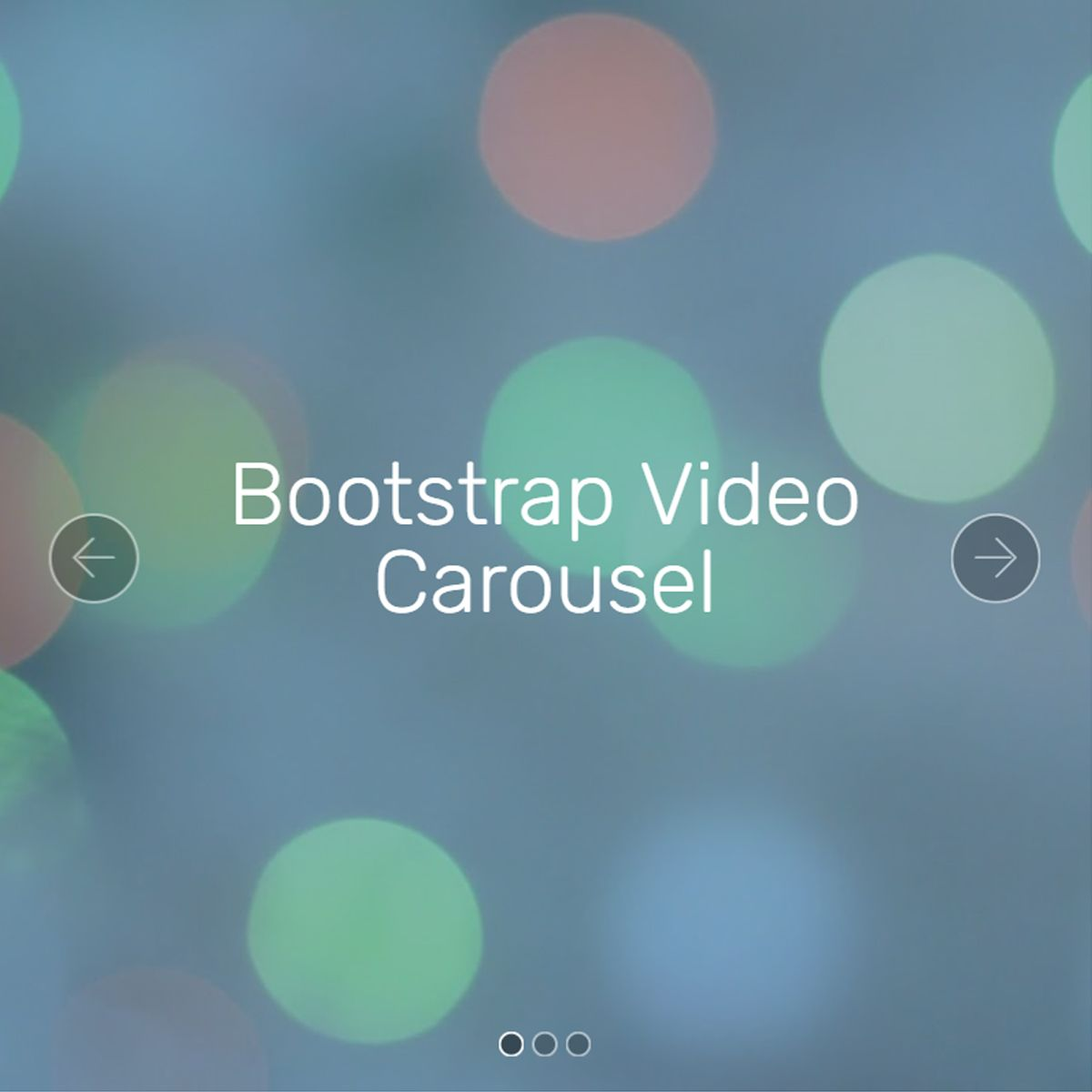 30+ Cool HTML Bootstrap Slideshow and Gallery Demos for 2018